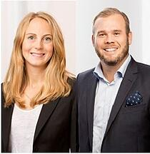 Sofia Jönne och Andreas Stranne