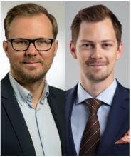 Jakob Raihle och Sebastian Sjöö