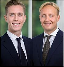 Johan Åslund och Viktor Ahlzén