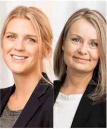 Linn Persson & Karolina Palin