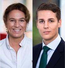 Lillon Lindberg and Tomas Vikström