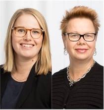 Lisa Kristensson och Lotta Abrahamsson