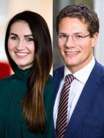 Marzena Dabrowska och Thomas Almendal