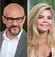 Peter Lindstrand & Hanna Tsikhanava