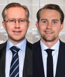 Pär Magnus Wiséen och Tim von Oelreich