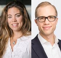 Constantina Boberg och Tobias Lindgren
