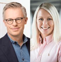 Henrik Melin och Nathalie Hellström