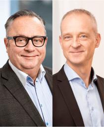 Stefan Asklöf och Sten Levin