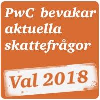 PwC bevakar skattefrågorna inför valet 2018