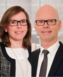 Annika Svanfeldt och Jesper Öberg