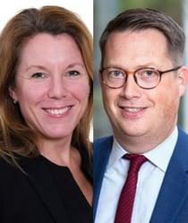 Anna Groth och Adrian Bussmeier