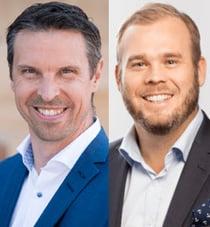 Fredrik Richter och Andreas Stranne