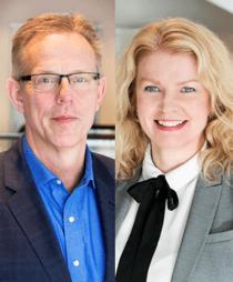 Ingemar Ritseson och Christina Wellmar