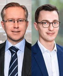 Pär Magnus Wiséen och Jonathan Lee