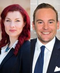 Veronica Eriksson och Peter Heyne