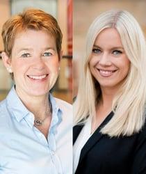Cecilia Arrhenius och Sofia Linder