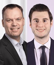 Fredrik Ohlsson och Mario Repas