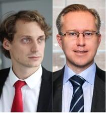 Adrian-Daniel Nistor och Pär Magnus Wiséen