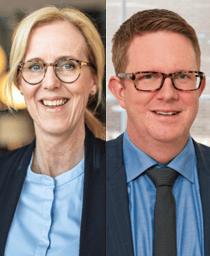 Kajsa Boqvist och Henrik Gustafsson