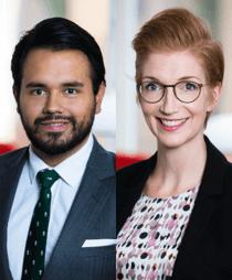 Anders Forslund och Lisa Zeise