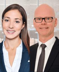 Anna Franzén och Jesper Öberg