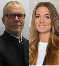 Björn Nordgren och Camilla Marklund