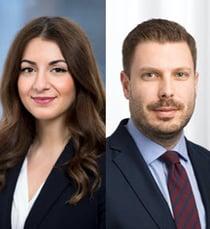 Caroline Poles och Christian Le Guillarme