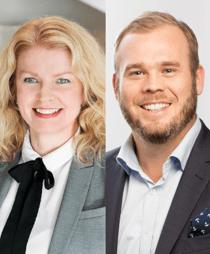 Christina Wellmar och Andreas Stranne