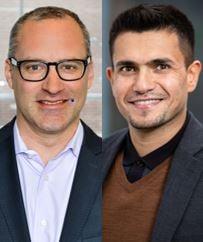 Daniel Glückman och Omar Hassan Khel