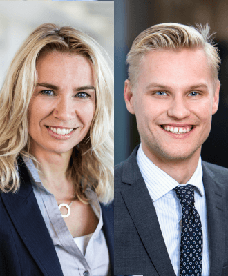 Elisabeth Bergmann och Oscar Söderlund