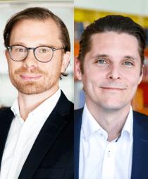Fredrik Lund och Ola Persson