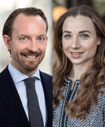 Fredrik Nilsson och Josephine Hagert