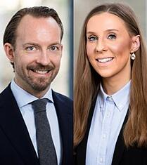 Fredrik Nilsson och Louise Karlén