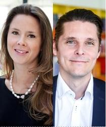 Hanna Jurland och Ola Persson