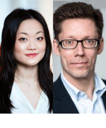Julia Shao och Thomas Borg
