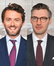 Michal Herink och Mattias Edlund Winblad