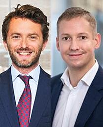 Michal Herink och Jacob Malmsten