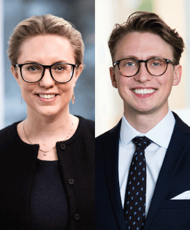 Sara Lörenskog och Carl Svalstedt