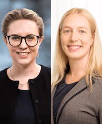 Sara Lörenskog och Hillevi Söderberg