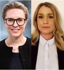 Sara Lörenskog och Anna-Sara Andersson