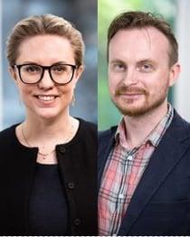 Sara Lörenskog och Robert Byrde