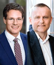 Thomas Almendal och Per-Erik Waller