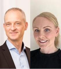 Hanna Johansson och Sten Levin