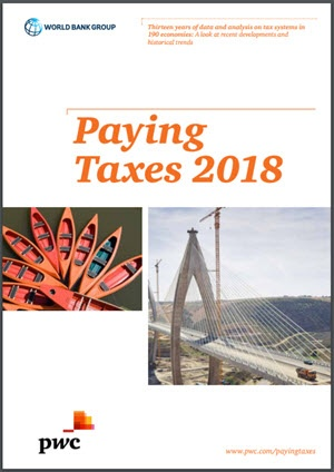 Paying Taxes 2018 – jämförelse av 190 skattesystem globalt