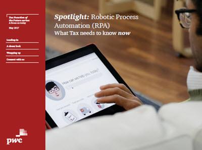 Robotic Process Automation effektiviserar skattefunktionen