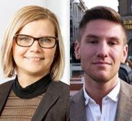Ulrika Lundh Eriksson och Niclas Friberg