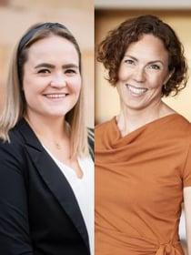 Emma Larsson och Lina Gardlow