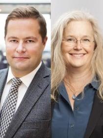 Henrik Ivarsson och Lena Josefsson