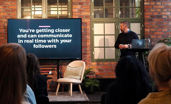 Johnny Axelsson på Norrsken Marketing Week