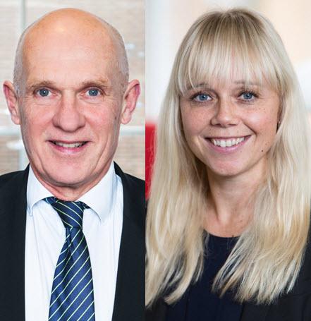 Lars Svensson och Anna Berglund